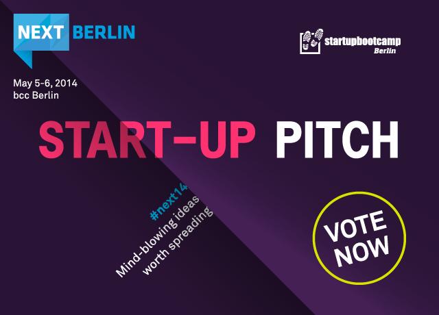NEXT14 Start-up Pitch