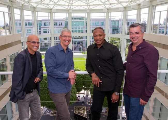 The new Apple/Beats team