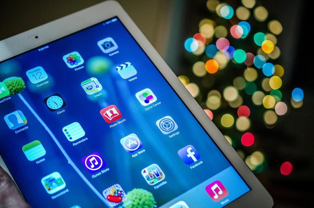 iPad Bokeh