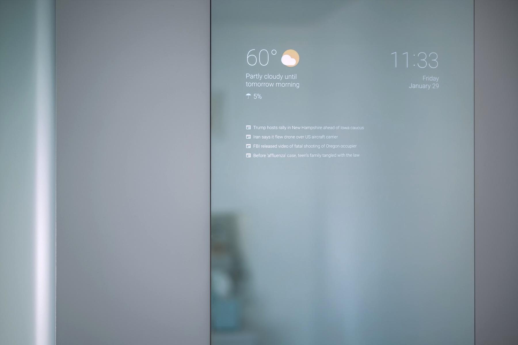 A Home Made Smart Mirror