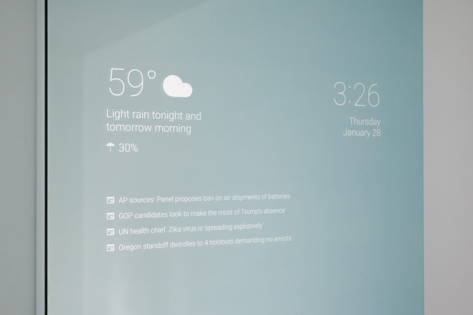 The Future Of Tech Can Be Seen In A Smart Mirror Brightly Next Conference