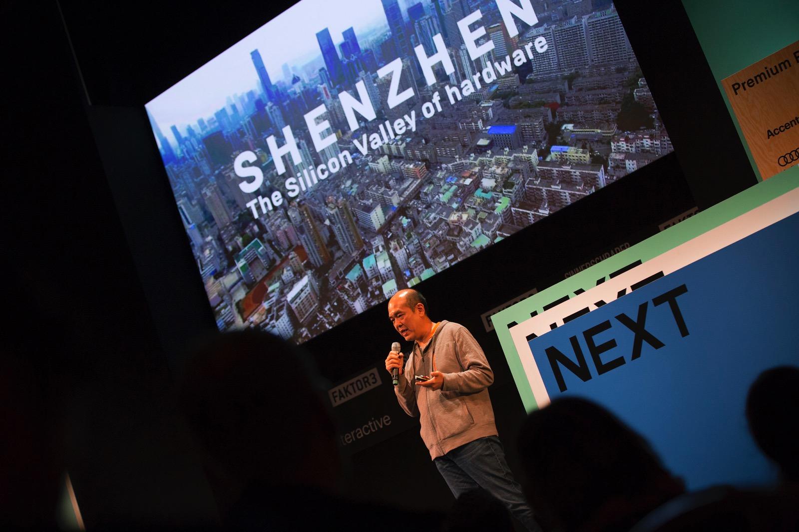 David Li talks Shenzhen