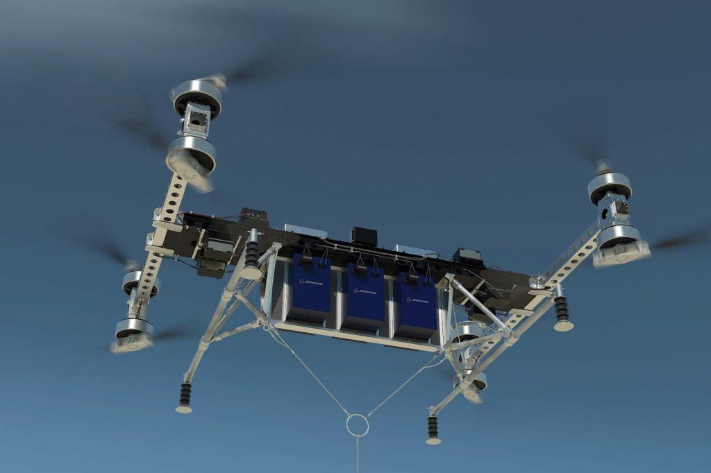 Boeing cargo drone