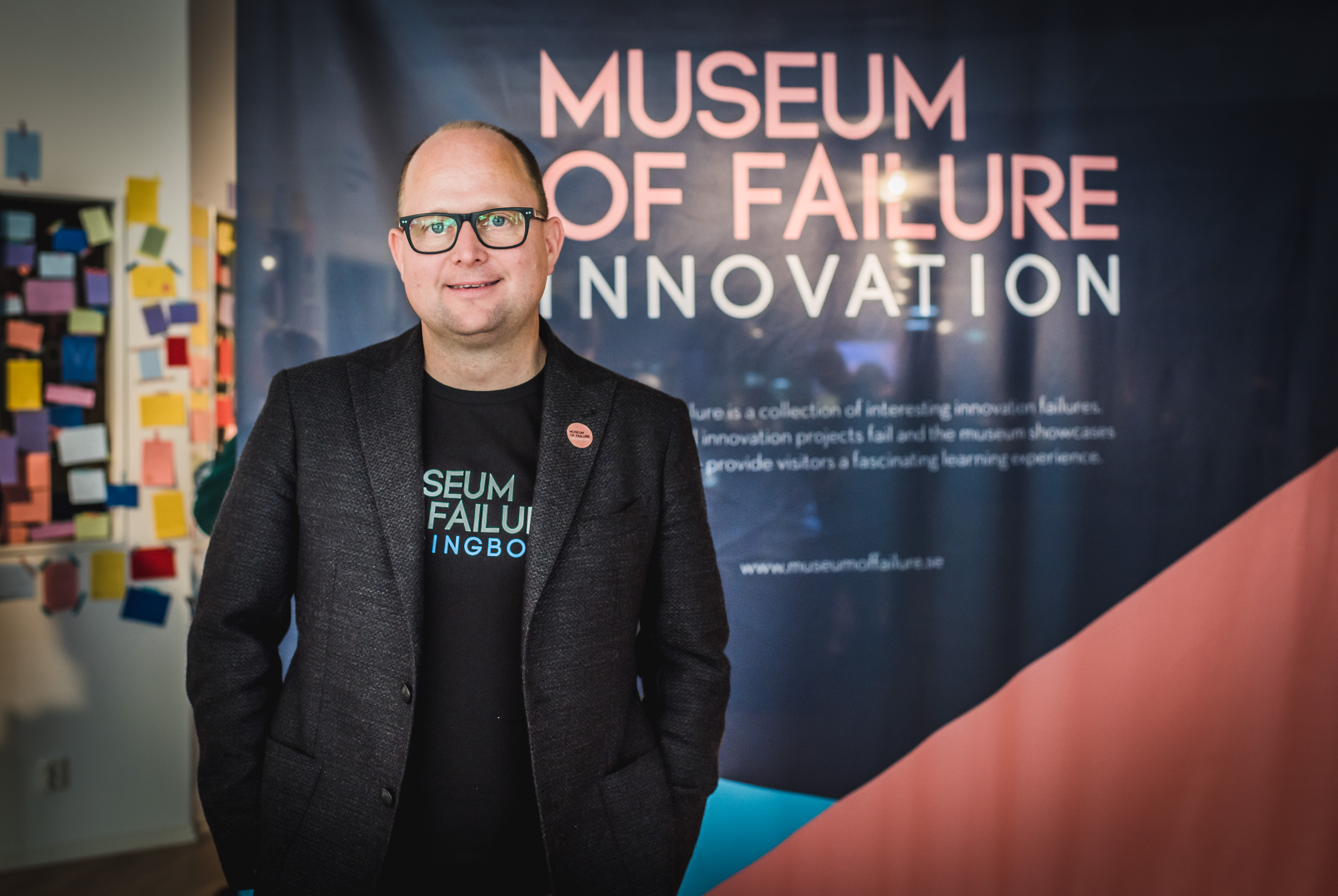 Samuel West and the Museum of Failure