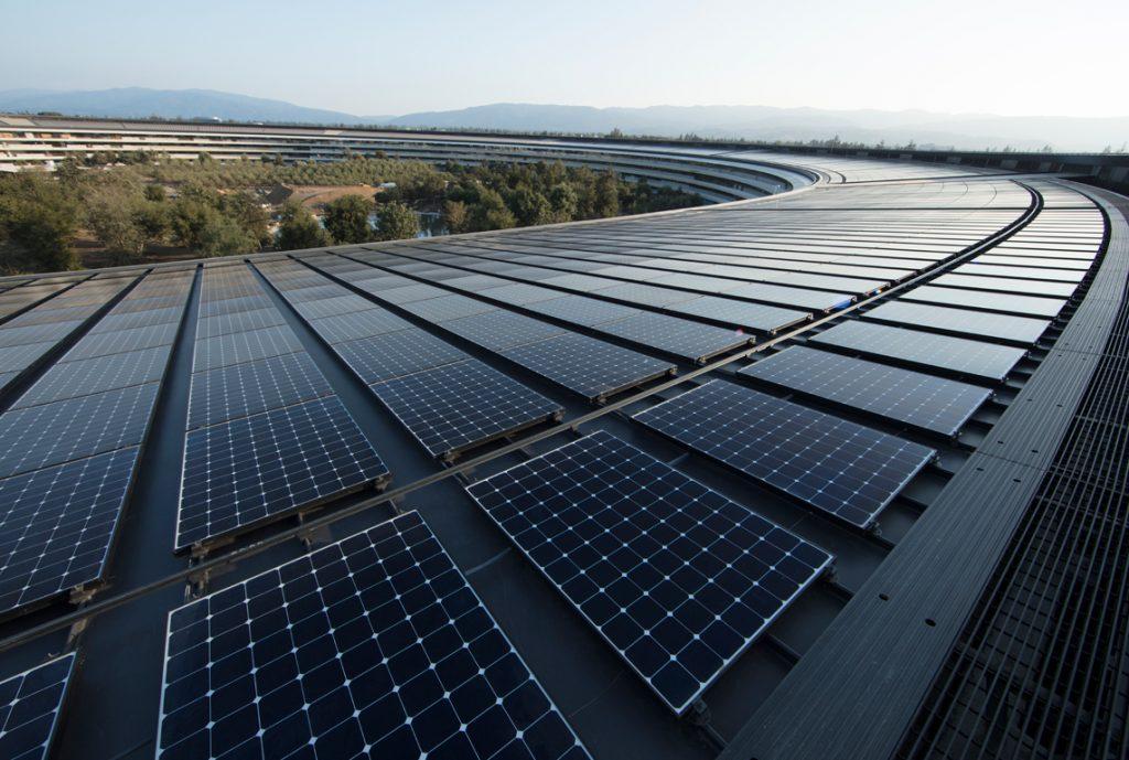 Solar-powered Apple