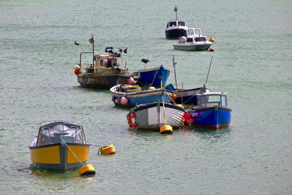 Boats on the River Adur