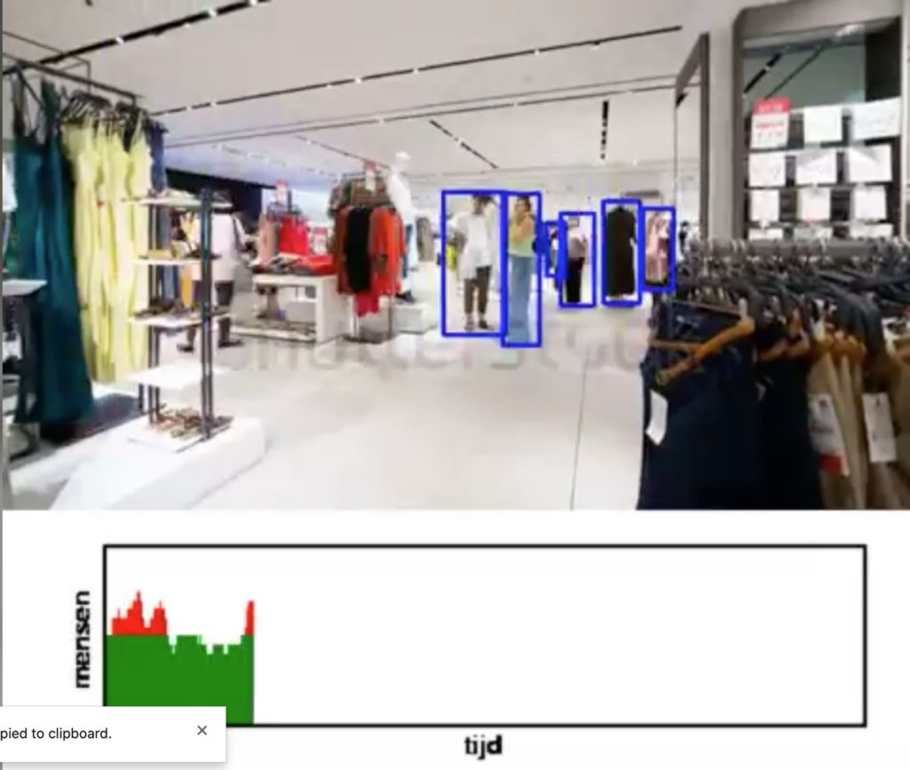 Computer vision tracking shoppers